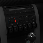 Mini Interior: Console Detail