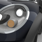 Mini Exterior: Headlight Detail