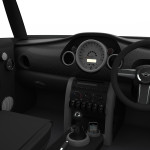 Mini Interior: Drivers View