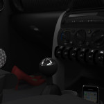 Mini Interior: Footwell